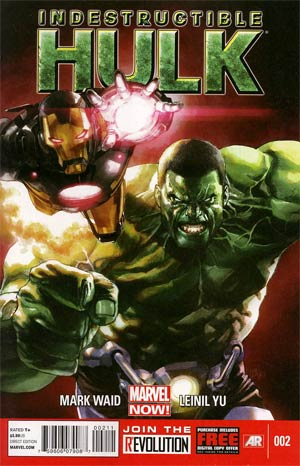 Indestructible Hulk #2 1st Ptg Regular Leinil Francis Yu Cover