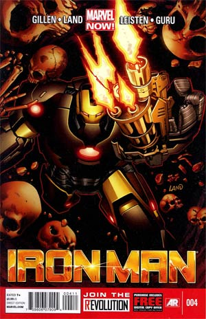 Iron Man Vol 5 #4 1st Ptg Regular Greg Land Cover