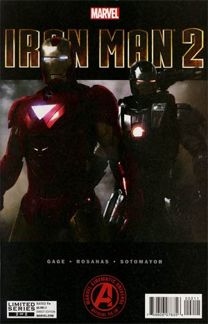 Marvels Iron Man 2 Adaptation #2