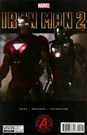 Marvels Iron Man 2 Adaptation #2