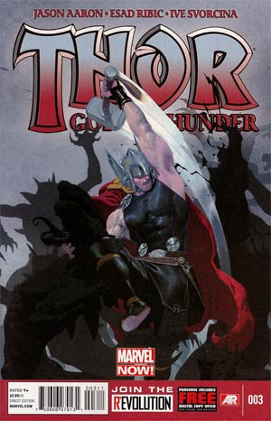Thor God Of Thunder #3 1st Ptg Regular Esad Ribic Cover