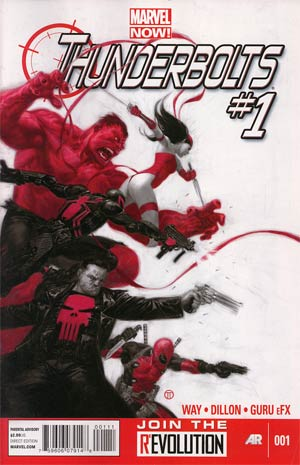 Thunderbolts Vol 2 #1 1st Ptg Regular Julian Totino Tedesco Cover