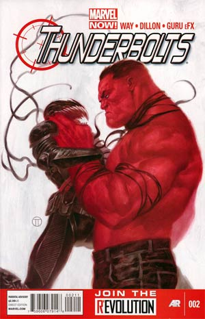 Thunderbolts Vol 2 #2 1st Ptg Regular Julian Totino Tedesco Cover