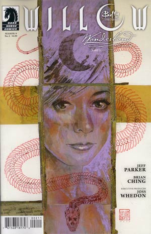 Buffy The Vampire Slayer Willow Wonderland #2 Regular David Mack Cover