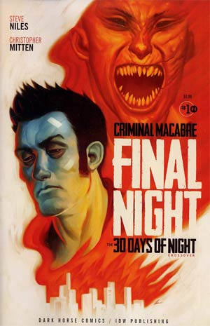 Criminal Macabre Final Night 30 Days Of Night Crossover #1