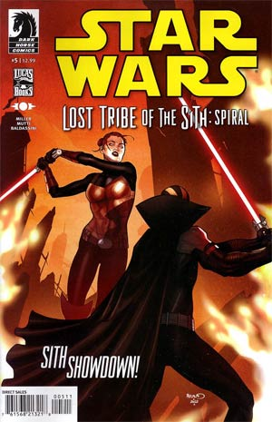 Star Wars Lost Tribe Of The Sith Spiral #5