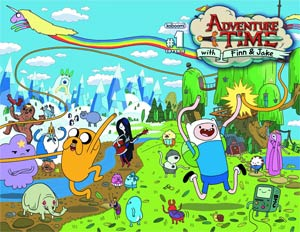 Adventure Time #1 Incentive Chris Houghton Wraparound Variant Cover