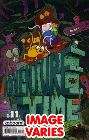 DO NOT USE (DUPLICATE LISTING) Adventure Time #11 Regular Cover (Filled Randomly With 1 Of 2 Covers)