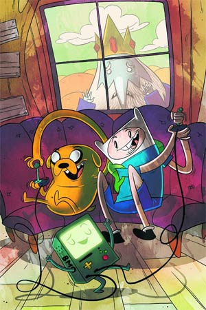 Adventure Time #5 Incentive Gabe From Penny Arcade Variant Cover