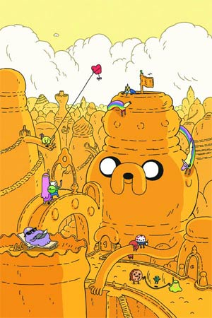 Adventure Time #6 Incentive Steve Wolfhard Variant Cover