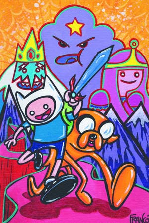 Adventure Time #7 Incentive Franco Aureliani Variant Cover