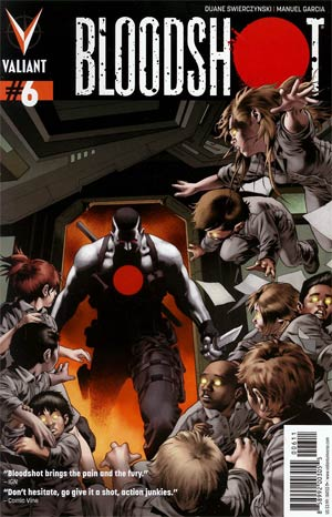 Bloodshot Vol 3 #6 Regular Arturo Lozzi Cover