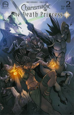 Charismagic Death Princess #2 Cover B Emilio Lopez