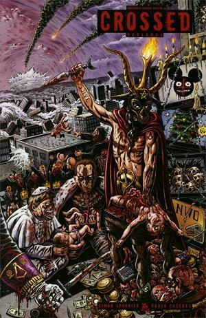 Crossed Badlands #20 End Of The World Cvr