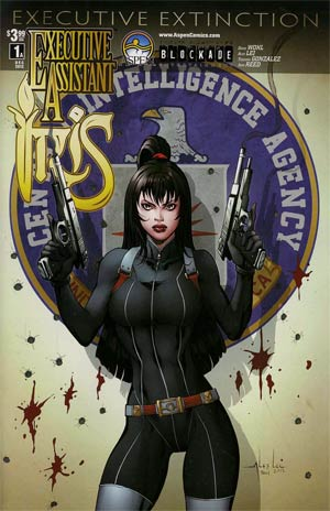 Executive Assistant Iris Vol 3 #1 Cover A Alex Lei