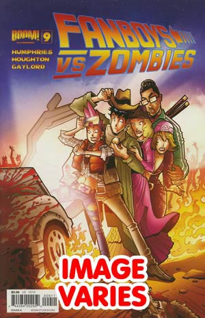 Fanboys vs Zombies #9 Regular Cover (Filled Randomly With 1 Of 2 Covers)