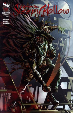 Grimm Fairy Tales Presents Sleepy Hollow #3 Cover B Matt Triano