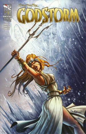 Grimm Fairy Tales Presents Godstorm #3 Cover A Pasquale Qualano