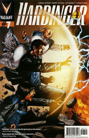 Harbinger Vol 2 #7 Regular Mico Suayan Cover