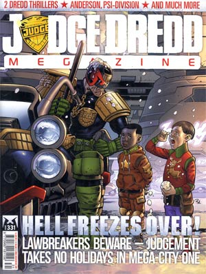 Judge Dredd Megazine #331