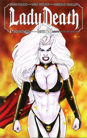 Lady Death Vol 3 #20 Auxiliary Edition