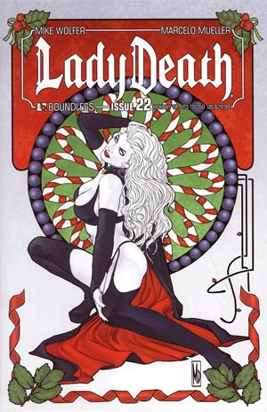 Lady Death Vol 3 #22 Holiday VIP Ultra Premium Cover