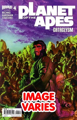 DO NOT USE Planet Of The Apes Cataclysm #4 Regular Cover (Filled Randomly With 1 Of 2 Covers)