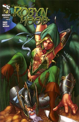 Grimm Fairy Tales Presents Robyn Hood #4 Cover A Pasquale Qualano