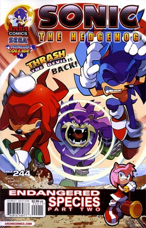 Sonic The Hedgehog Vol 2 #244