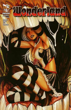 Grimm Fairy Tales Presents Wonderland Vol 2 #6 Cover A Stjepan Sejic