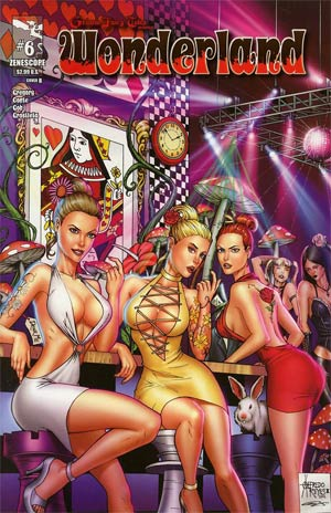 Grimm Fairy Tales Presents Wonderland Vol 2 #6 Cover B Alfredo Reyes