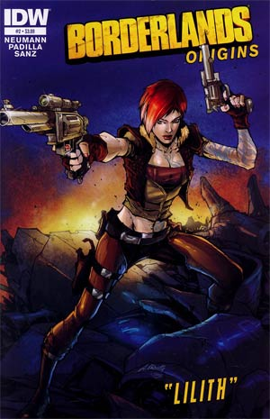 Borderlands Origins #2 1st Ptg Regular Augustin Padilla Cover