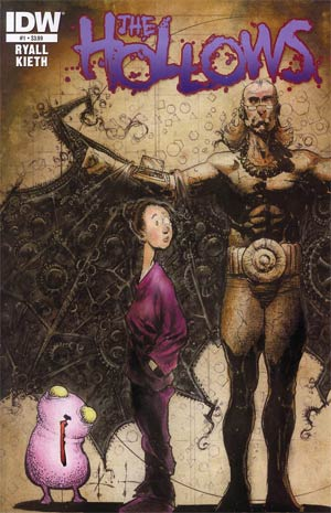 Hollows #1 Regular Sam Kieth Cover