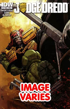 DO NOT USE (DUP) Judge Dredd Vol 4 #2 1st Ptg Regular Cover (Filled Randomly With 1 Of 2 Covers)