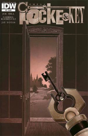 Locke & Key Omega #2 Regular Gabriel Rodriguez Cover