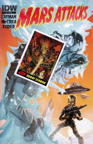 Mars Attacks Vol 3 #6 Regular John McCrea Cover