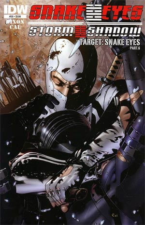 Snake Eyes & Storm Shadow #20 Regular Alex Cal Cover