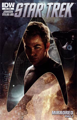 Star Trek (IDW) #16 Regular Tim Bradstreet Cover