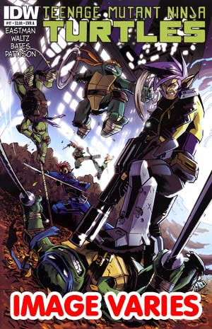 Teenage Mutant Ninja Turtles Vol 5 #17 Regular Cover (Filled Randomly With 1 Of 2 Covers)