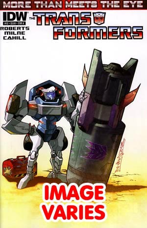 DO NOT USE (DUPLICATE LISTING) Transformers More Than Meets The Eye #12 Regular Cover (Filled Randomly With 1 Of 2 Covers)