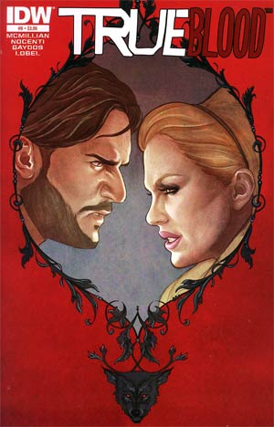 True Blood Vol 2 #8 Regular Jenny Frison Cover