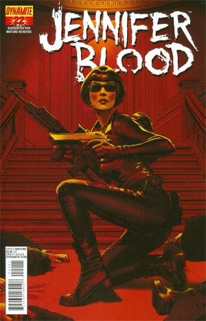 Garth Ennis Jennifer Blood #22