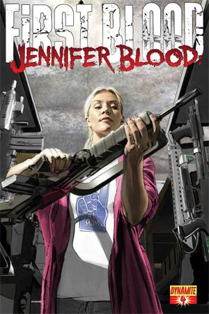 Jennifer Blood First Blood #4