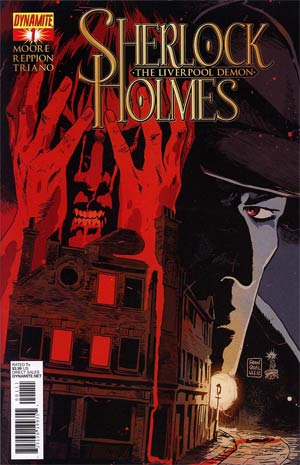 Sherlock Holmes Liverpool Demon #1 Regular Francesco Francavilla Cover