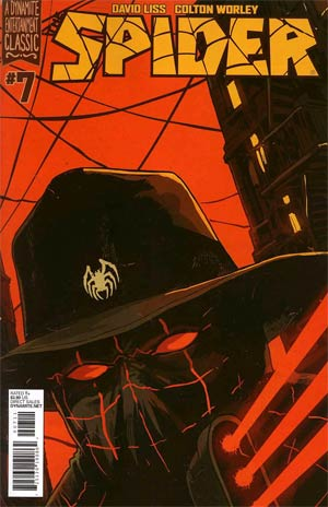 Spider #7 Regular Francesco Francavilla Cover