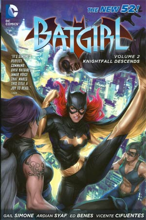 Batgirl (New 52) Vol 2 Knightfall Descends HC