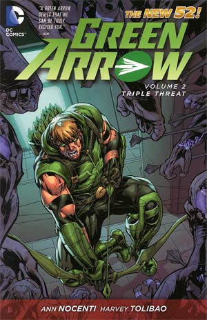 Green Arrow (New 52) Vol 2 Triple Threat TP