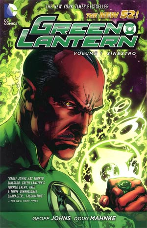 Green Lantern (New 52) Vol 1 Sinestro TP