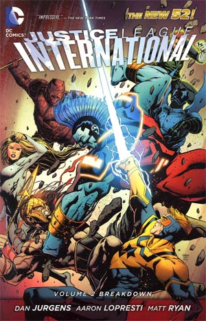 Justice League International Vol 2 Breakdown TP