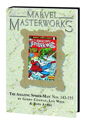 Marvel Masterworks Amazing Spider-Man Vol 15 HC Variant Dust Jacket